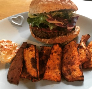 Quinoa & Black Bean Burger